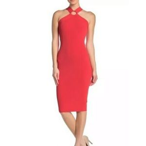 NWT Ted Baker Coral Sionna Bodycon Dress US 12